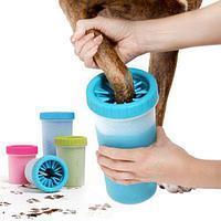 Лапомойка большая Soft Gentle Silicone .Емкость для мытья лап  pet feet washer BIG