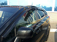 Дефлекторы боковых стекол Subaru XV 2011 (Субару хв) Cobra Tuning