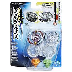 Бейблейд Тайрос Т2 и Думсайзор D2 Beyblade Burst Evolution Tyros T2 and Doomscizor D2 без пускателя