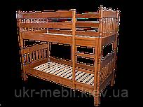 Двухъярусная кровать из массива дерева ясень Трансформер, Орион