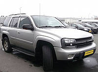 Дефлекторы окон Chevrolet Trialblazer 2002-2010 (Шевроле триалблазер) Cobra Tuning
