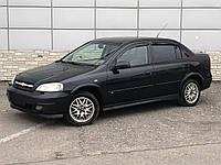 Дефлекторы окон Chevrolet Viva Sd 2004-2008 (Шевроле Вива) Cobra Tuning