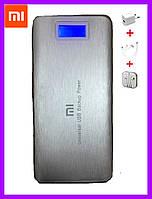 Портативное зарядное устройство Xiaomi Mi Power Bank 40 000 mAh с LCD экраном и фонариком / Павер Банк