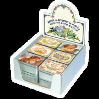 Натуральное мыло в жестяной упаковке, 100 грамм
