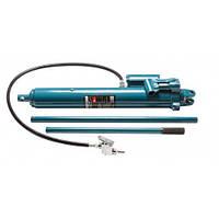 Цилиндр гидравлический удлиненный с дополнительным пневмоприводом, 5т (общая длина - 620мм, ход штока - 500мм)