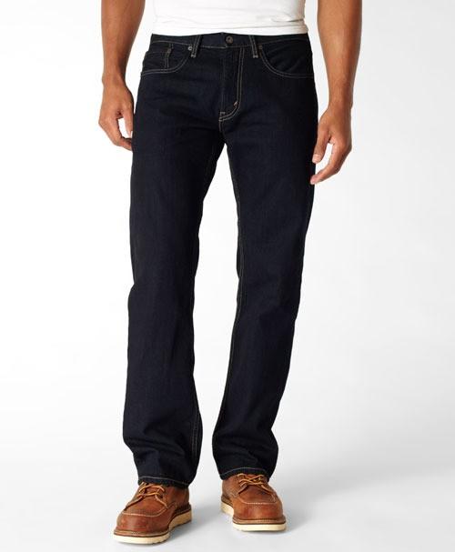 LEVIS 559 Relaxed Straight Jeans Rebuilt Dark Indigo new