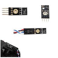 Оптический Лазер Филамент Датчик Обнаружение датчика с помощью кабеля для 3D-принтера Prusa i3 MK3 - 1TopShop