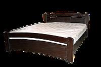 Кровать двуспальная Марта 160*200, ольха массив