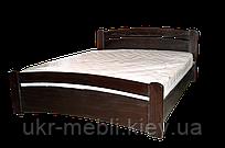 Кровать двуспальная из массива дерева Марта 160*200, размеры под заказ