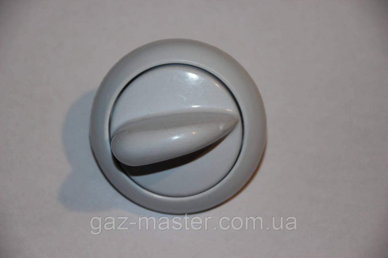 Ручка белая газовой плиты Gefest