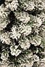 Сосна 1,85 м. Millington зеленая со снегом, фото 3