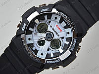 Часы Casio GA-200 Black-White