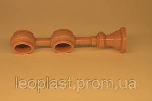 Кронштейн на две трубы