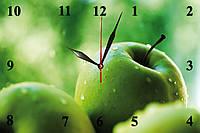 """Настенные часы """"Зеленые яблоки"""", фото 1"""