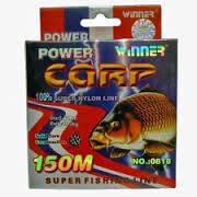 Леска  рыболовная Winner Power Carp 150 м 0.40
