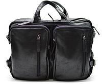 Мужская кожаная сумка-рюкзак GA-7014-3md TARWA, фото 1