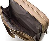Мужская кожаная деловая сумка  RC-4664-4lx TARWA, фото 4