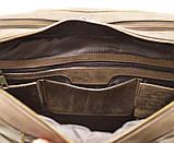 Мужская кожаная деловая сумка  RC-4664-4lx TARWA, фото 5