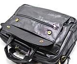 Чоловіча сумка на три відділення з шкіри наппа TARWA VA-7146-3md, фото 4