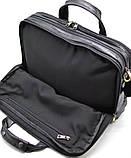 Мужская сумка на три отделения из кожи наппа TARWA VA-7146-3md, фото 7