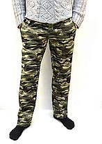 Штаны мужские  камуфляжные зимние - трикотаж Брюки спортивные теплые Tovta, фото 2