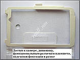 Белый кожаный чехол-книжка Folio Case для Asus Memo Pad 7 Me70C Me70CX, фото 5