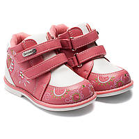 Ортопедические демисезонные ботинки Шалунишка - Ортопед для девочки, размер 20-25