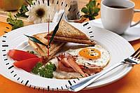 Настенные часы МДФ кухонные кварцевые, фото 1