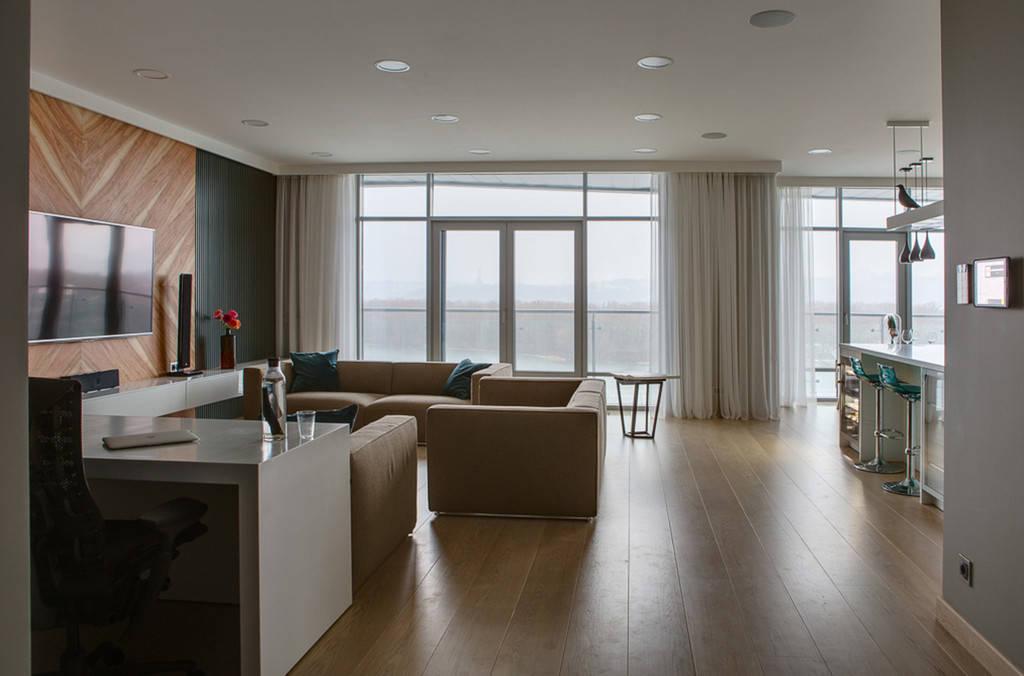 Комплексное обустройство мебелью в квартире ЖК «Riviera Riverside», Киев