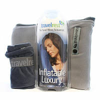 Подушка для путешествий дорожная TravelRest Inflatable Luxury