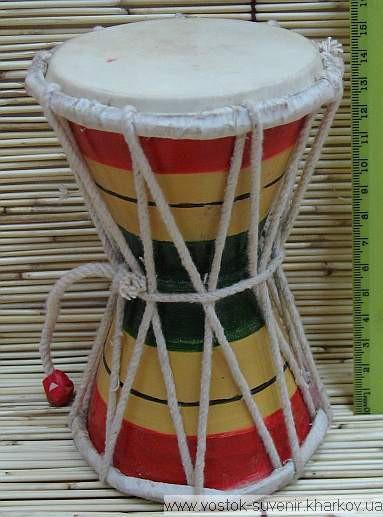 Барабан цветной (15,3х10,6х10,6 см)