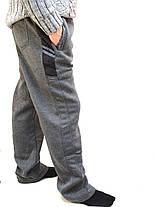 Брюки спортивные мужские зимние - 3 кармана, фото 2