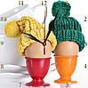 """Настенные часы  кухонные """"Яйца всмятку"""", фото 3"""