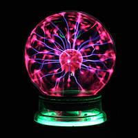Ночник светильник Magic Flash Ball Плазменный шар18 см