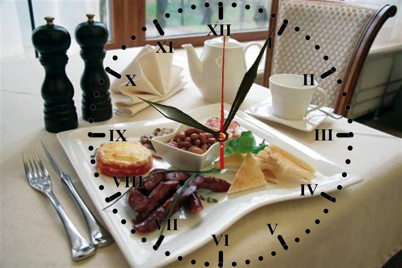 """Настенные часы """"Завтрак"""""""