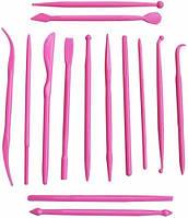 Набор ножиков стеков для мастики-12см  уп=14шт
