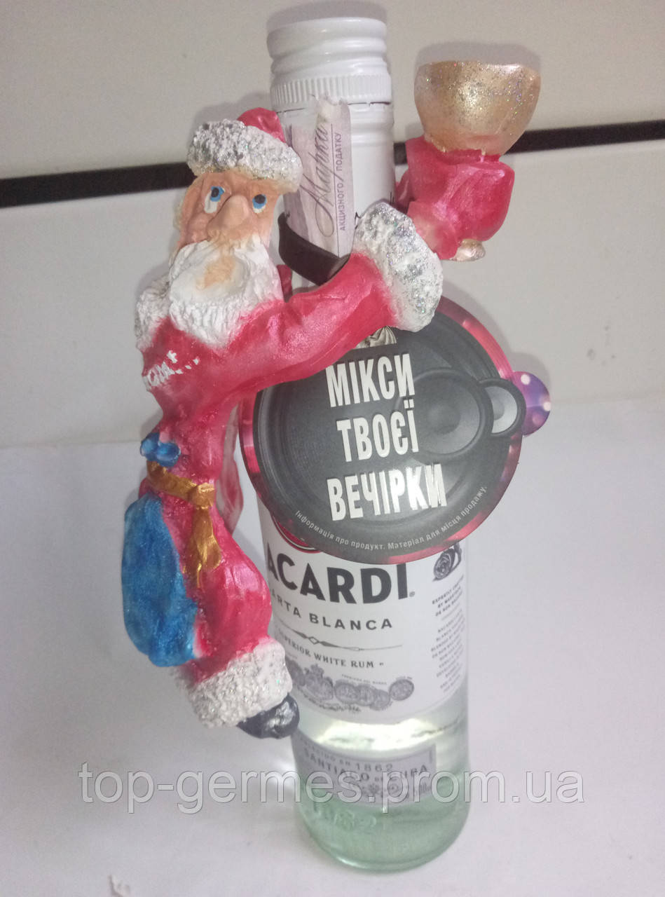 Декор на бутылку