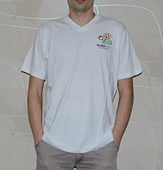 Мужская футболка EURO 2012 46 Белый