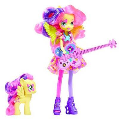 "My Little Pony Equestria Girls Fluttershy з поні Rainbow Rocks Neon (Кукла ""Rainbow Rocks"" Девушки Эквестри)"