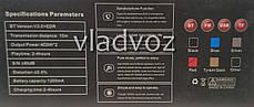 Портативная блютуз колонка акустика bluetooth для телефона мини с флешкой повербанк радио FM красная J29, фото 3
