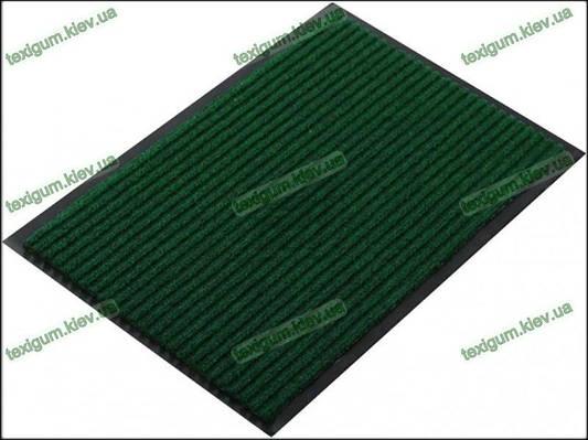 Грязезащитный ковер Рубчик-К  90х150см. зеленый