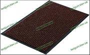 Грязезащитный ковер Рубчик-К  90х150см. коричневый