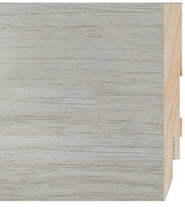 Плінтус підлоговий МДФ Prestige D6236 Дуб Верден Вершковий 2.4 м