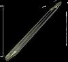 Трубачатый кварцевый инфракрасный излучатель, Кварцевый ИК излучатель в виде трубки