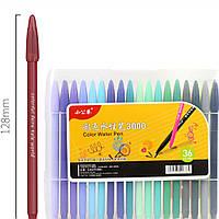 36 Цвет Гель Ручка Ручной счет Крюк Ручка канцелярских принадлежностей Офис Школа Поставки Графика Граффити 1TopShop