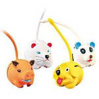 Trixie TX-3462 Латексний куля у вигляді тварини з хвостом діаметр 6 см-іграшка для собак