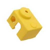 10шт Желтый универсальный Hotend Блок Изоляционный носок Силиконовый Чехол Для 3D-принтера - 1TopShop