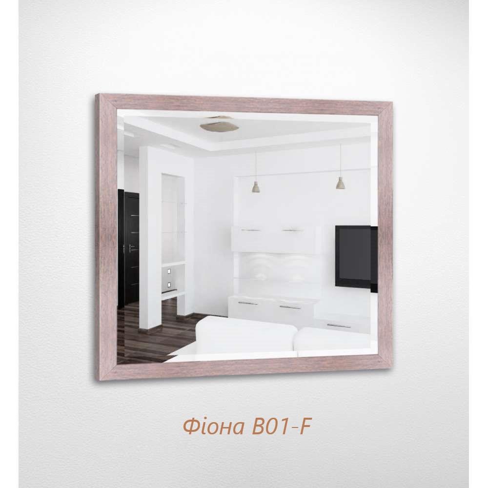 Дзеркало квадратне з фацетом Фіона B01-F БЦ-Стол