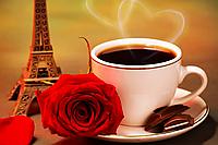 """Набор алмазной вышивки (мозаики) """"Ароматный кофе. С любовью!"""""""
