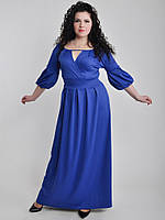 Платье БАТАЛ Интересный лиф